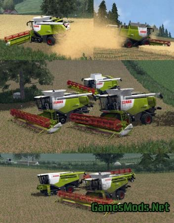 CLAAS LEXION ELITE PACK