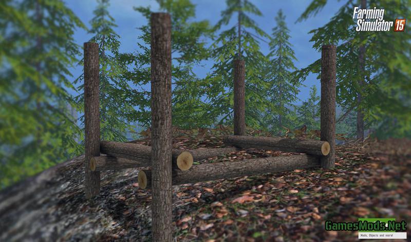 Platzierbares Holzlager V 1.0 » GamesMods.net - FS17, CNC ...