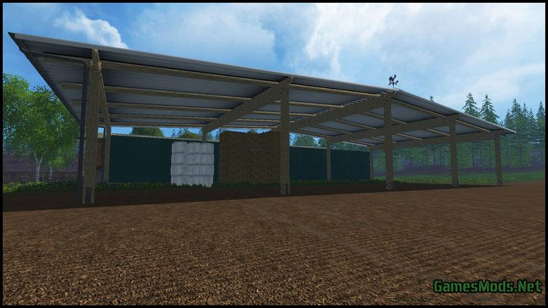 Placeable Straw And Hay Storage Building V 1 0 187 Gamesmods