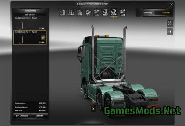 ADDITIONAL CUSTOMIZATION PARTS V6.0 » GamesMods.net - FS17, CNC, FS15, ETS 2 mods