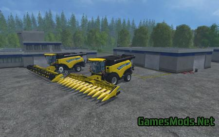 New Holland CR1090 Pack V 1.0