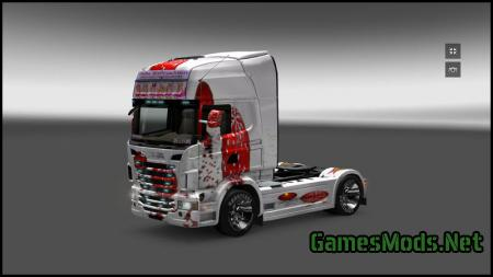 merry christmas truck tfsgroup fs17 cnc. Black Bedroom Furniture Sets. Home Design Ideas