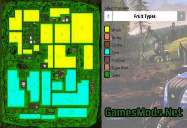 SOUTHERN NORWAY GamesModsnet FS CNC FS ETS Mods - Norway map farming simulator 2015
