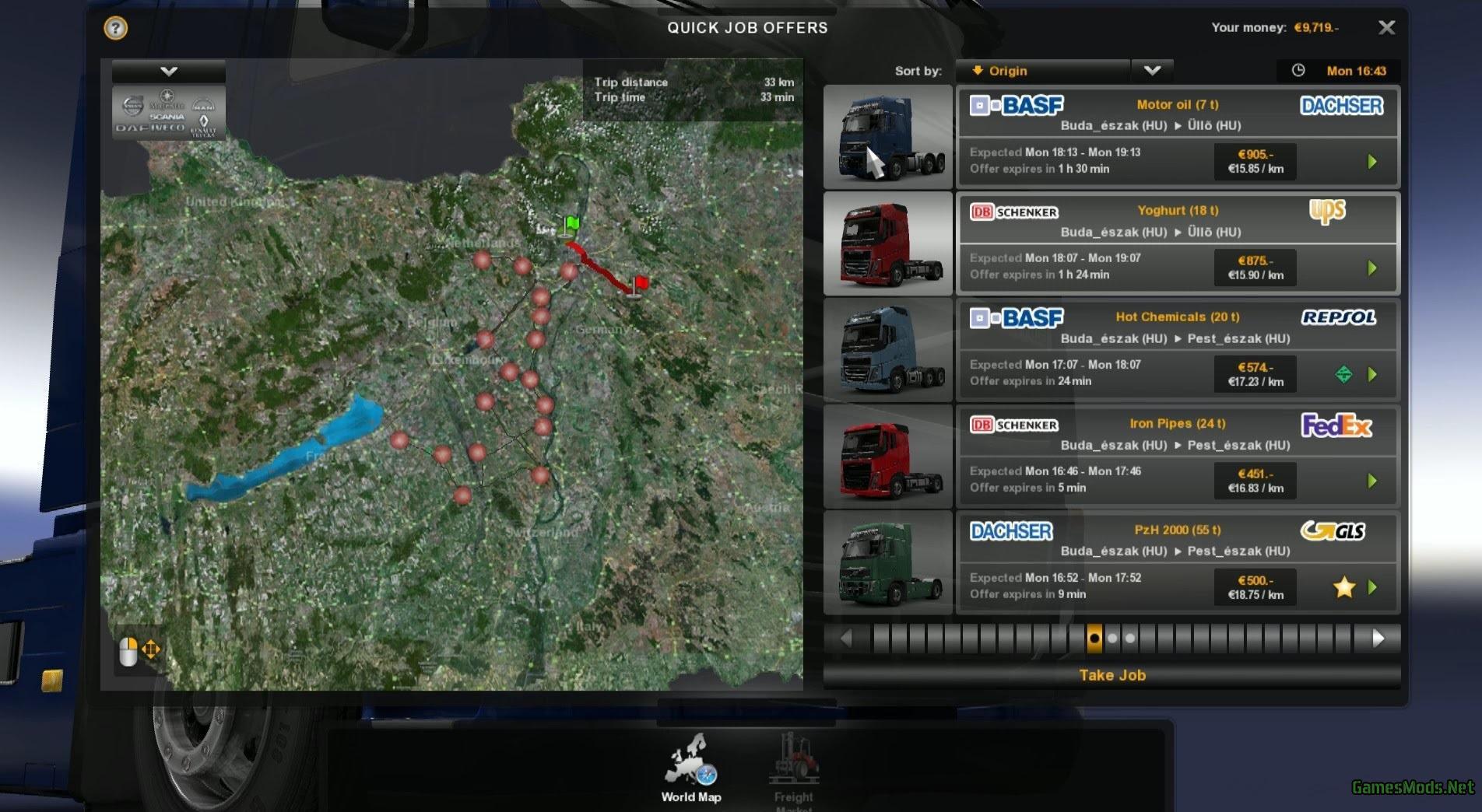 Hungary Map V0 9 22 187 Gamesmods Net Fs17 Cnc Fs15 Ets