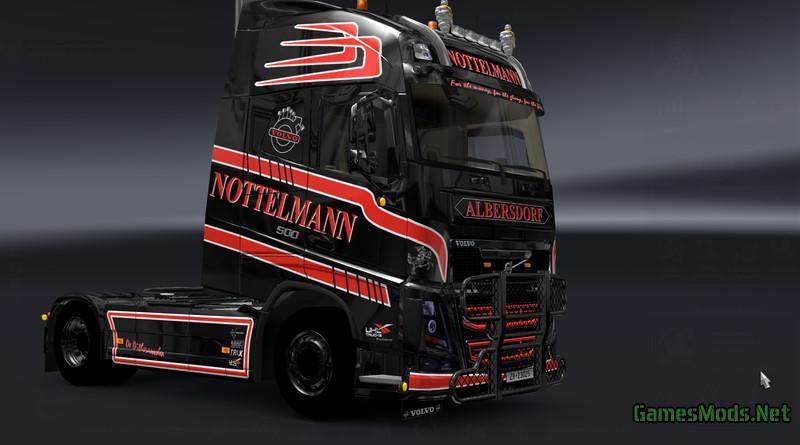 Nottelmann Volvo Fh 500 V 1 0 187 Gamesmods Net Fs17 Cnc