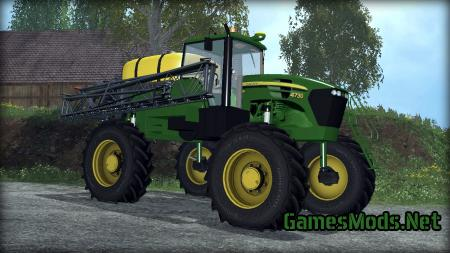JOHN DEERE 4730 SPRAYER V2