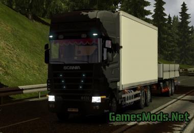 SCANIA R450 STREAMLINE TANDEM V1.2 » GamesMods.net - FS19 ...