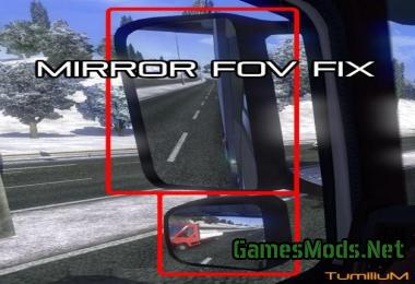MIRROR FOV FIX » GamesMods.net - FS19, FS17, ETS 2 mods
