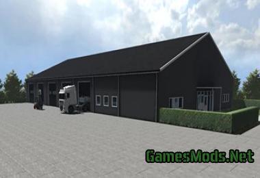 Garage Hall V1 0 187 Gamesmods Net Fs19 Fs17 Ets 2 Mods