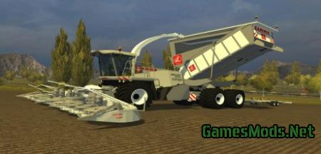 Claas Jaguar 900 Cargo Pack White