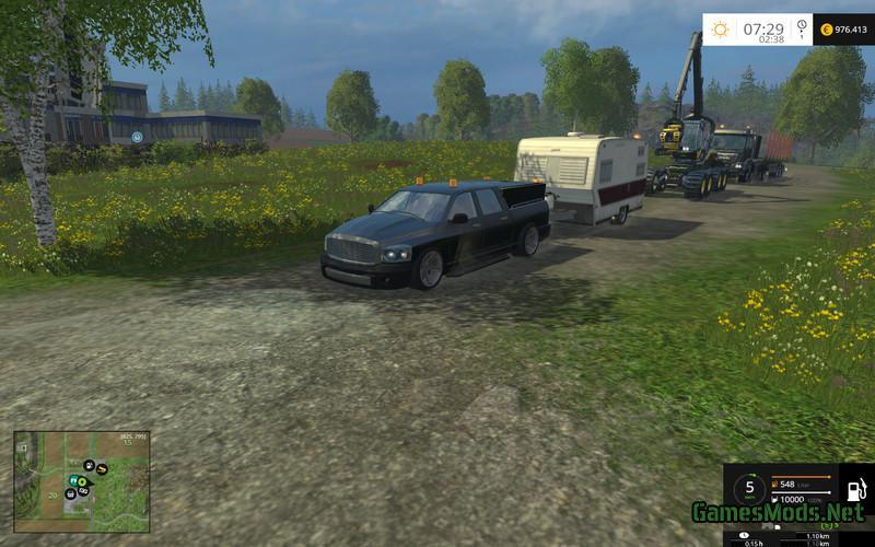 pickup set with fun mod v1 0 187 gamesmods net fs17 cnc