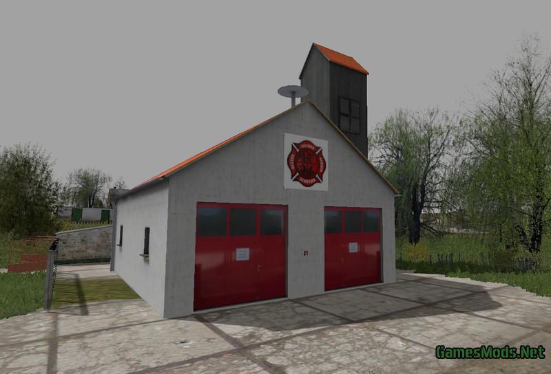 VILLAGE FIRE BRIGADE V1 0 » GamesMods net - FS19, FS17, ETS