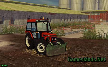ZETOR 7340 FOREST V 1.0 » GamesMods.net - FS17, CNC, FS15, ETS 2 mods