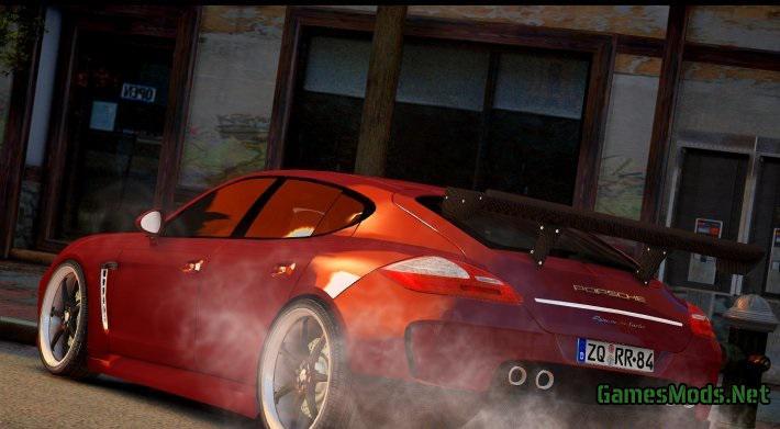 Porsche Parts Uk >> Porsche Panamera Turbo 2010 » GamesMods.net - FS19, FS17, ETS 2 mods