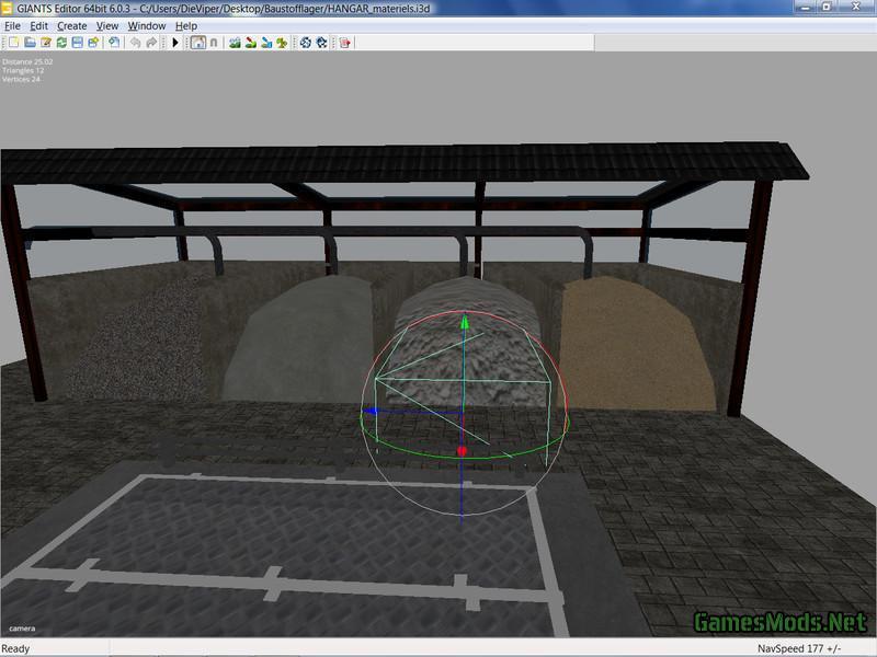 Building materials v1 0 fs17 cnc fs15 for I 10 building materials