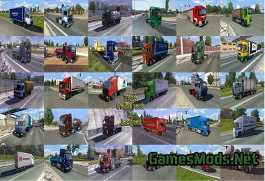 TRUCK TRAFFIC PACK BY JAZZYCAT V1 8 » GamesMods net - FS19