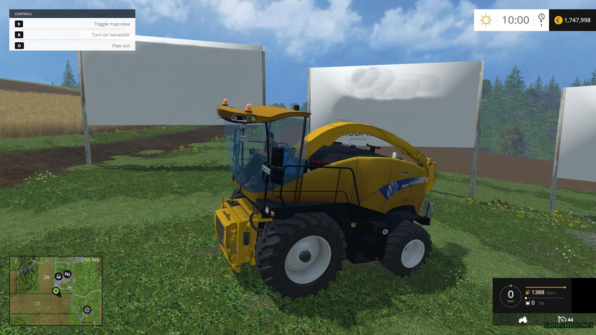 Www Ets Thomas Fr new holland fr 9090 v1.0 » gamesmods - fs19, fs17, ets 2