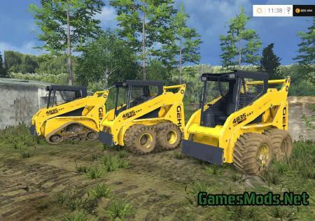 John Deere Skid Steer >> Gehl4835sxt tracked Skid steer » GamesMods.net - FS19, FS17, ETS 2 mods