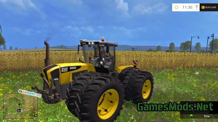 Claas Xerion 3800 WITH CAT skin