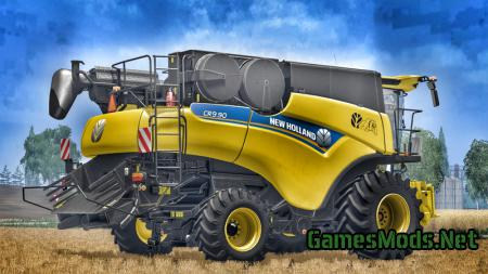 New Holland CR9.90 Yellow V 1.1