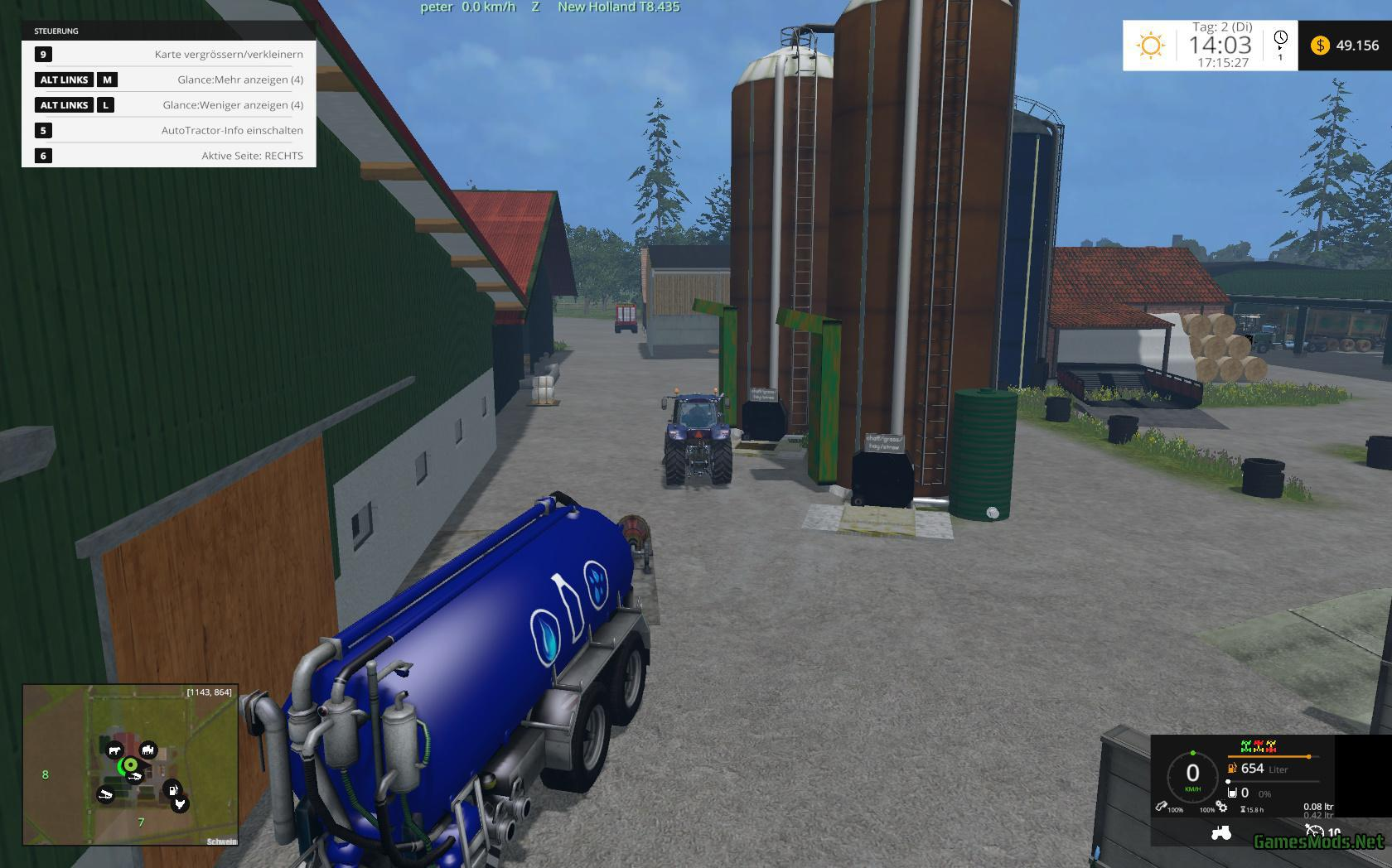 PLACEABLE SILAGE HIGH SILO V2 2 » GamesMods net - FS19, FS17, ETS 2 mods