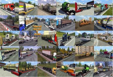 TRAILERS AND CARGO PACK BY JAZZYCAT V3 3 » GamesMods net