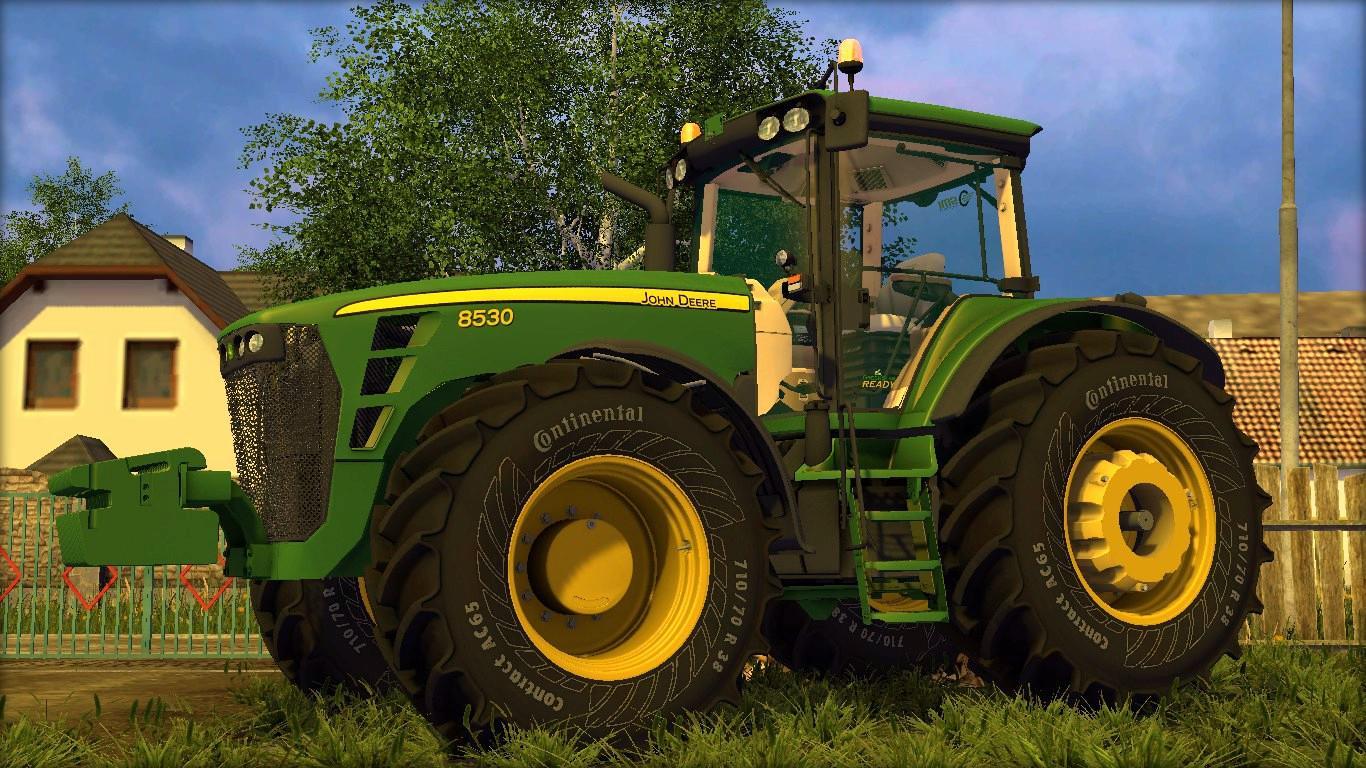 John Deere 8530 V15 Full Gamesmodsnet Fs19 Fs17 Ets 2 Mods