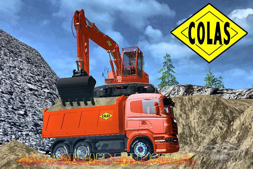Zorlac collection colas pack 4 tfsgroup for Pack travaux