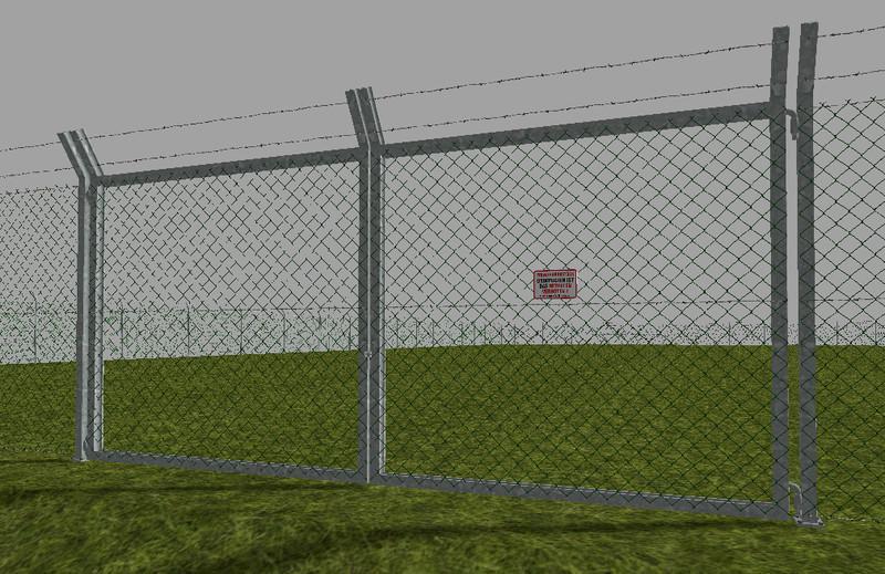 Chain Link Fence Set V1 0 187 Gamesmods Net Fs17 Cnc