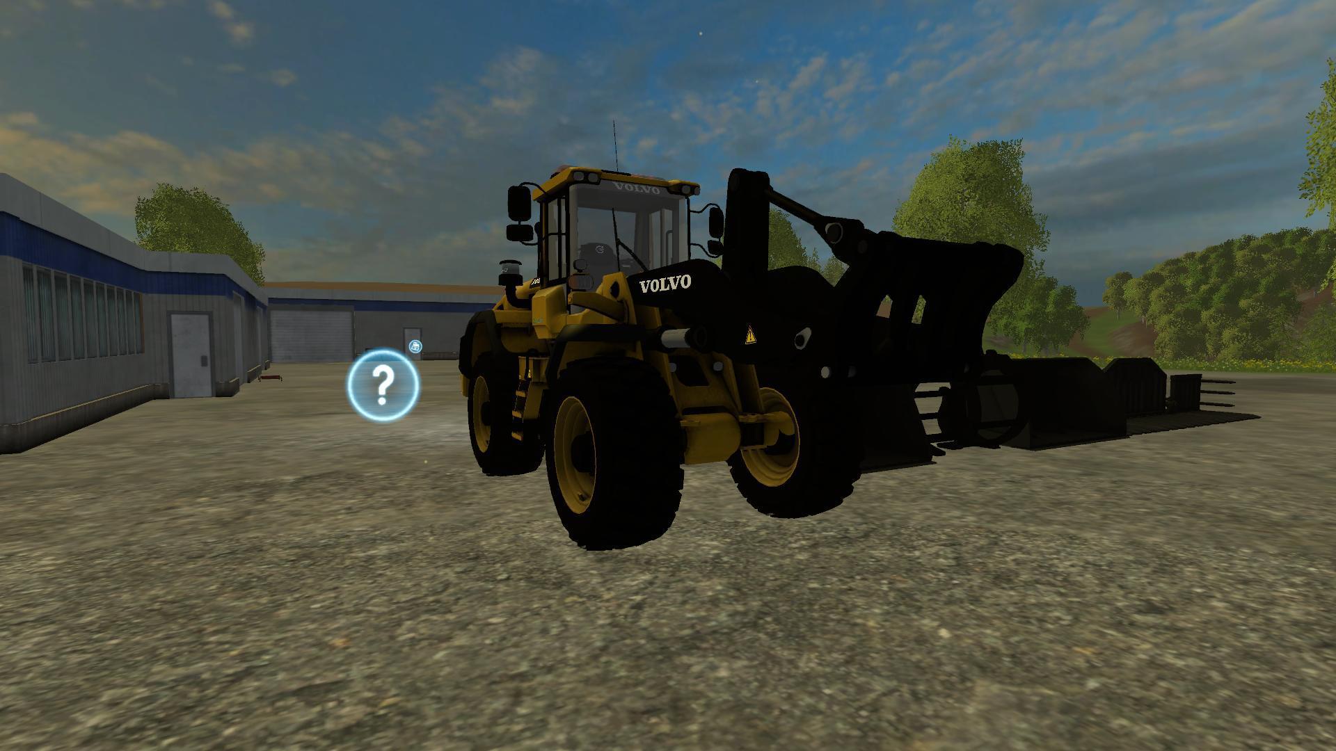 VOLVO GUMMIGED L120 V1 » GamesMods.net - FS17, CNC, FS15, ETS 2 mods