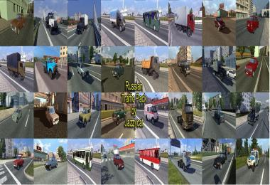 RUSSIAN TRAFFIC PACK BY JAZZYCAT V1.4.1