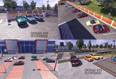 Cars with trailers in AI Traffic for ETS2 1 25 h » GamesMods net