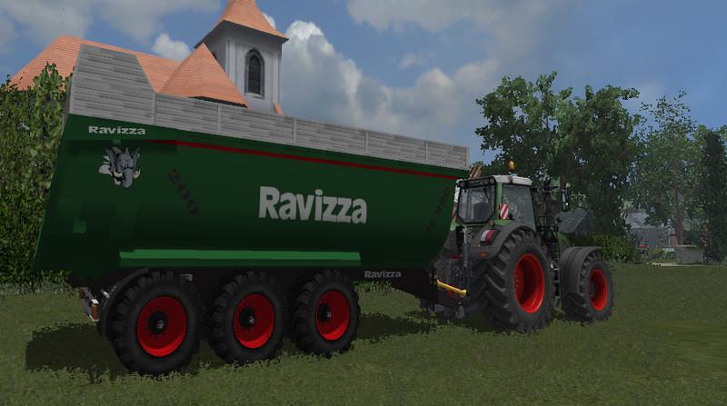 Ravizza jumbo v 1 0 fs17 cnc fs15 ets for Ravizza rimorchi