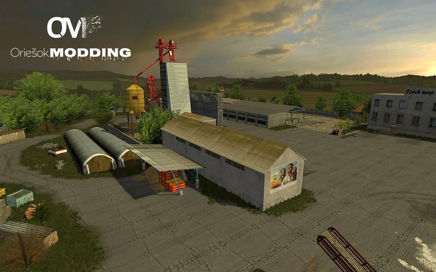 скачать мод на farming simulator 2013 карта czech map by coufy v2