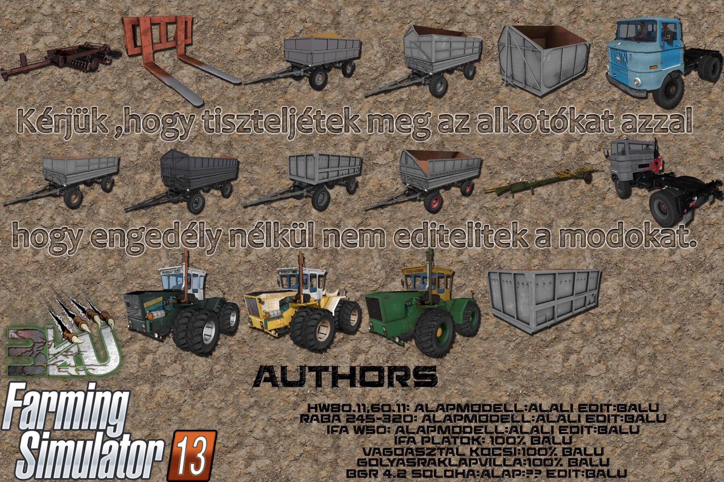 FS Pack - Argentina map farming simulator 2013