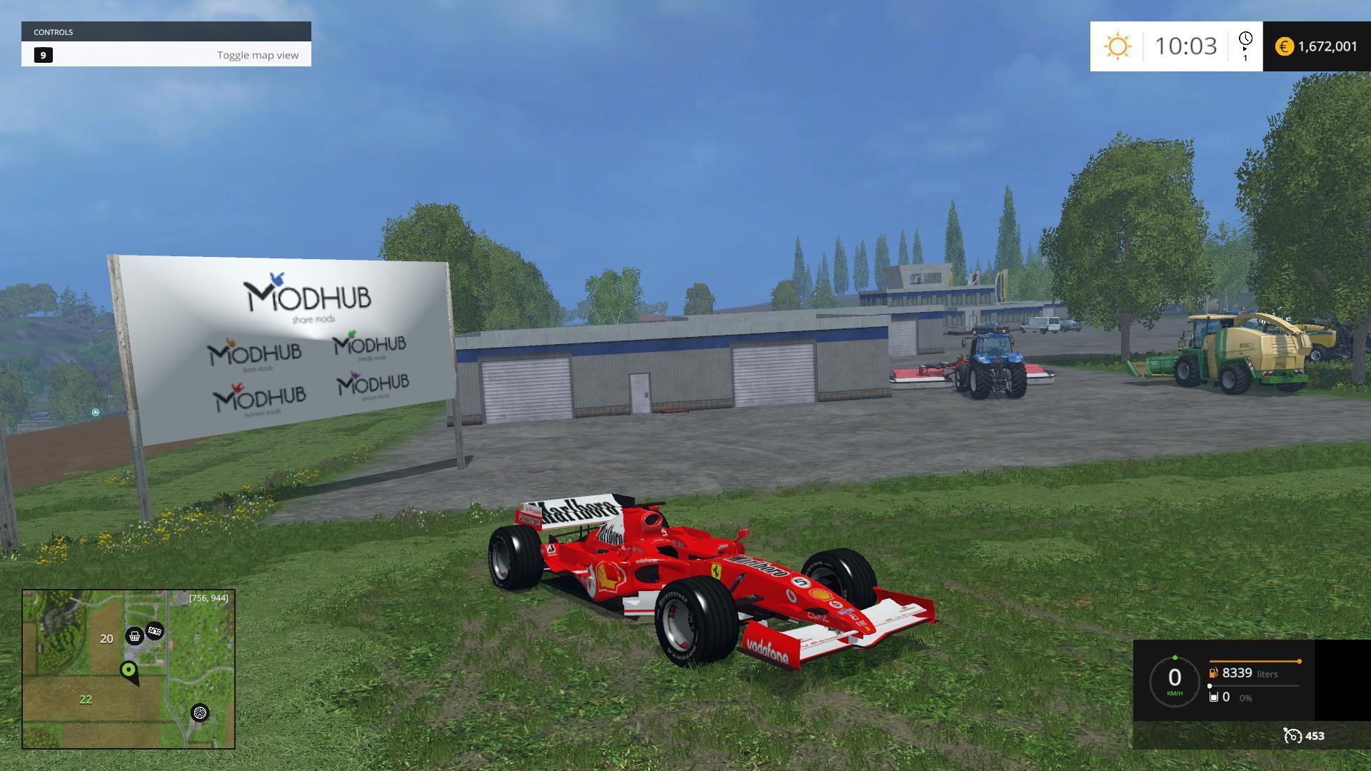 Ferrari F248 Race Car V1