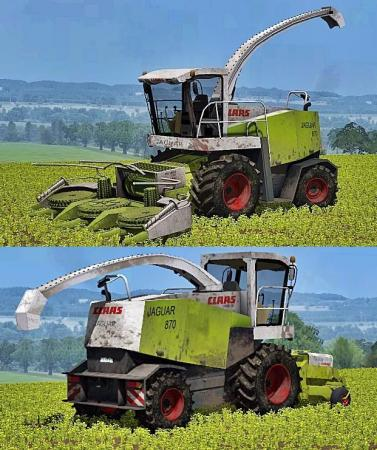 CLAAS JAGUAR 870 WASHABLE