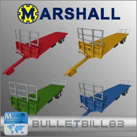 Marshall Bale Trailer Pack (With Fliegl DPW180 Universal AutoLoad)