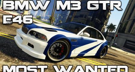BMW M3 E46 GTR «Most Wanted»
