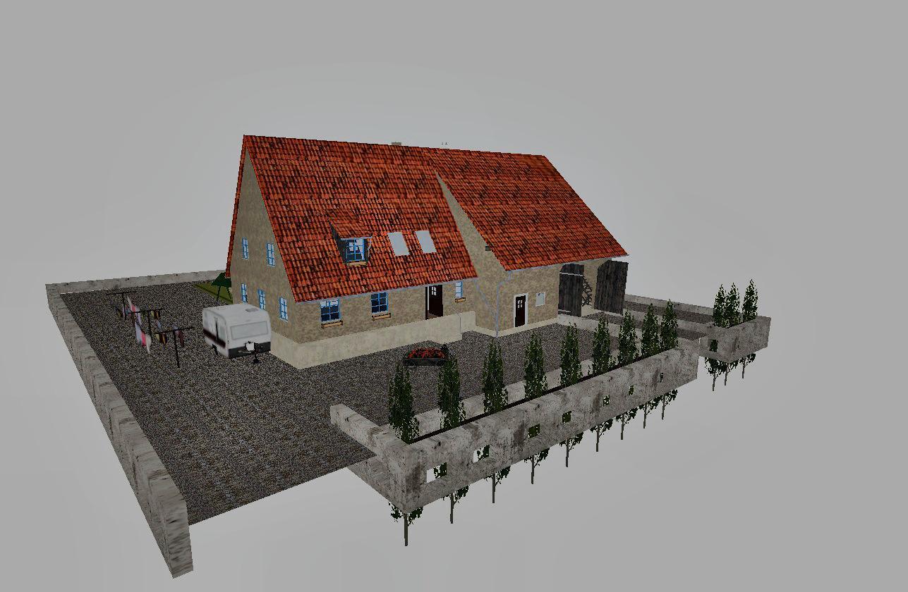 Maison fs17 cnc fs15 ets 2 mods for Mode de maison