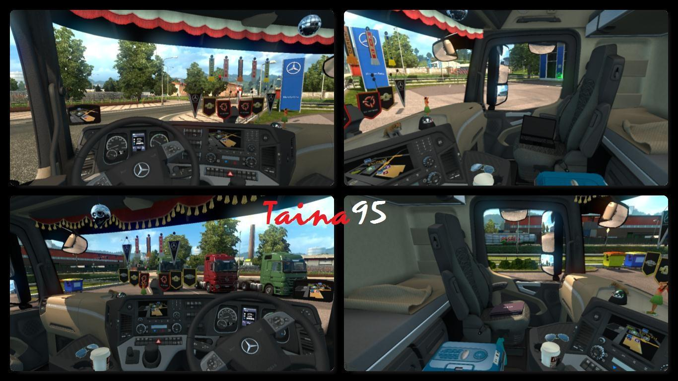 truck accessories simulator cabin mods cabins interior military euro pack