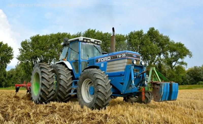 Ford Tw 35 Tractor Parts : Sound ford tw v gamesmods fs cnc