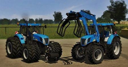 New Holland T 7040 FL
