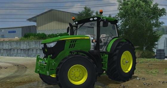 John Deere 6r Engine : John deere r pack new tractor v gamesmods