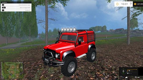 Land Rover Defender Offroad V 1.0 » GamesMods.net - FS17 ...