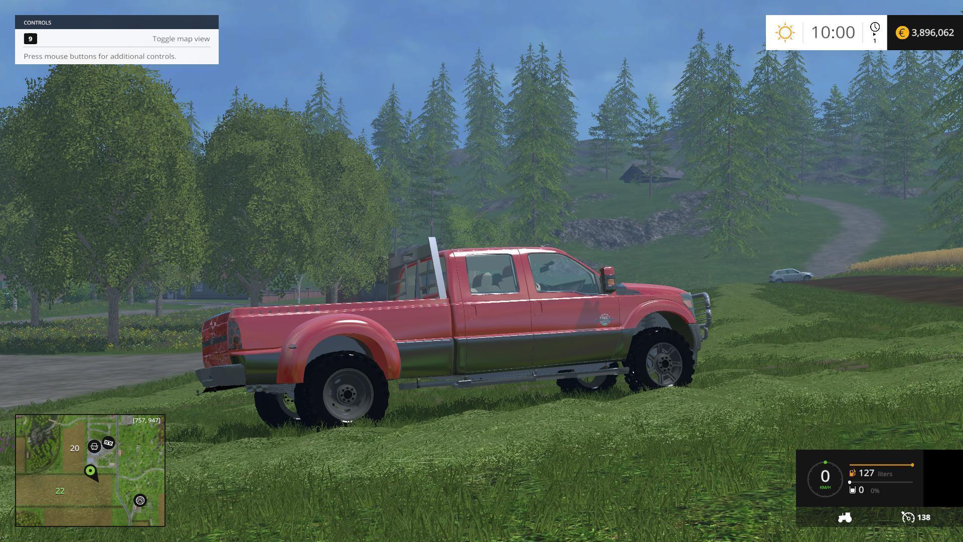 Ford f450 platinum v9 187 gamesmods net fs17 fs15 ets 2 mods