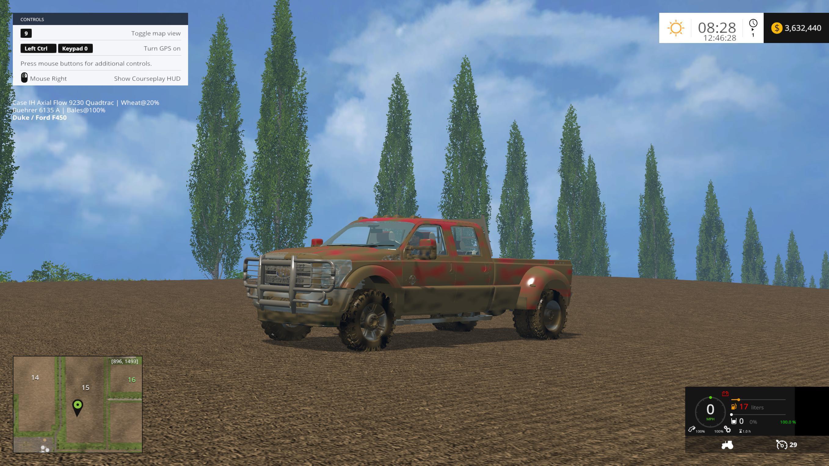 Ford F450 Platinum V9 187 Gamesmods Net Fs19 Fs17 Ets 2 Mods