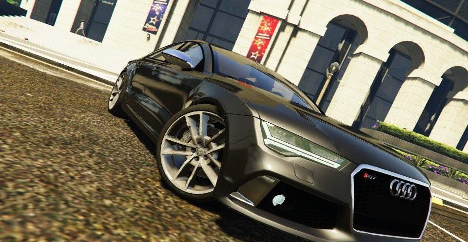 Audi RS7 2016 v1.1 » GamesMods.net - FS17, CNC, FS15, ETS 2 mods