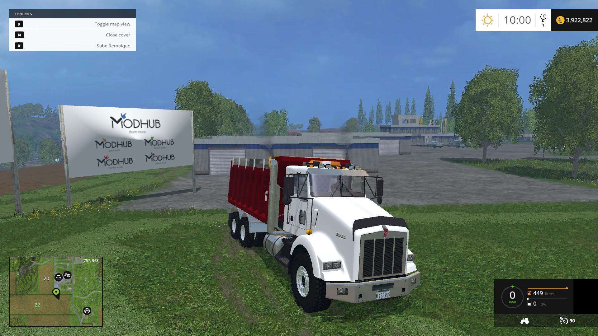 KENWORTH AMERICAN DUMPER V1.0 » GamesMods.net - FS19, FS17 ...Kenworth Dump Trucks Fs19