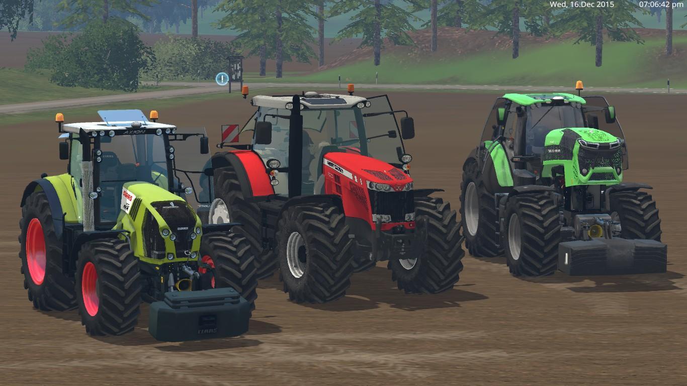 Tractors pack gamesmods net fs17 cnc fs15 ets 2 mods
